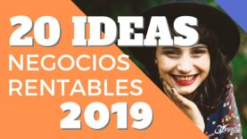 20 Ideas de Negocios Rentables Tendencia 2019